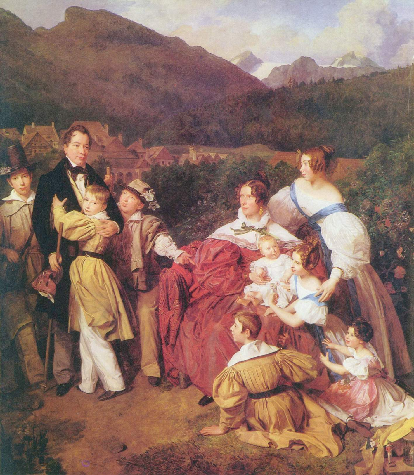 Семейство нотариуса д-ра Йозефа Августа Эльца, Вальдмюллер Фердинанд Георг