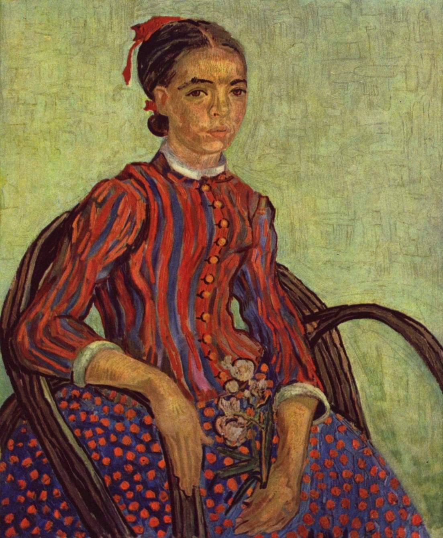 La Mousme (Японочка), Ван Гог Винсент Виллем