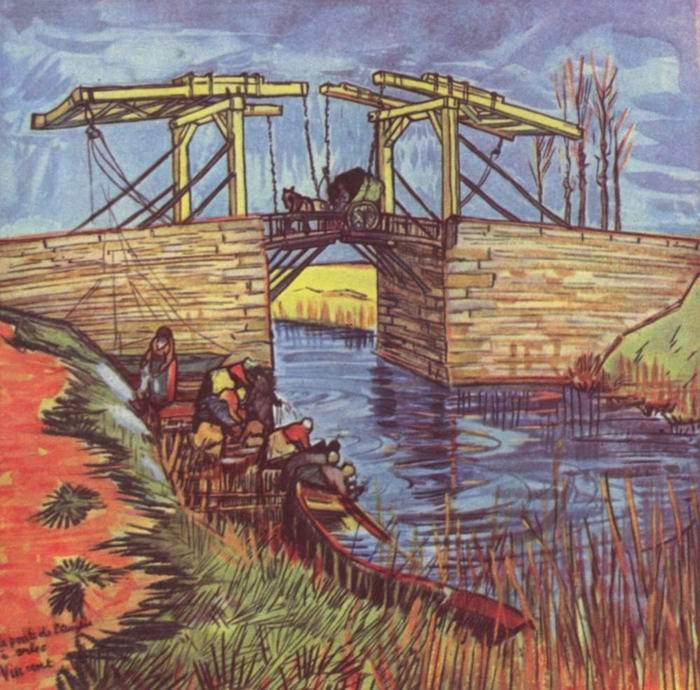 Мост Англуа, Ван Гог Винсент Виллем