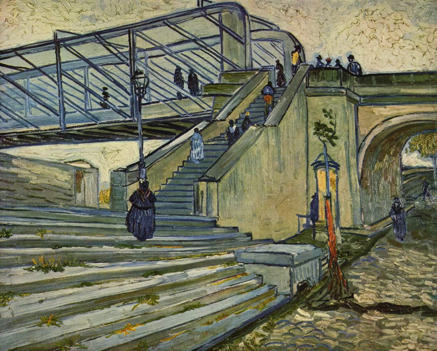 Мост Тренкетей, Ван Гог Винсент Виллем