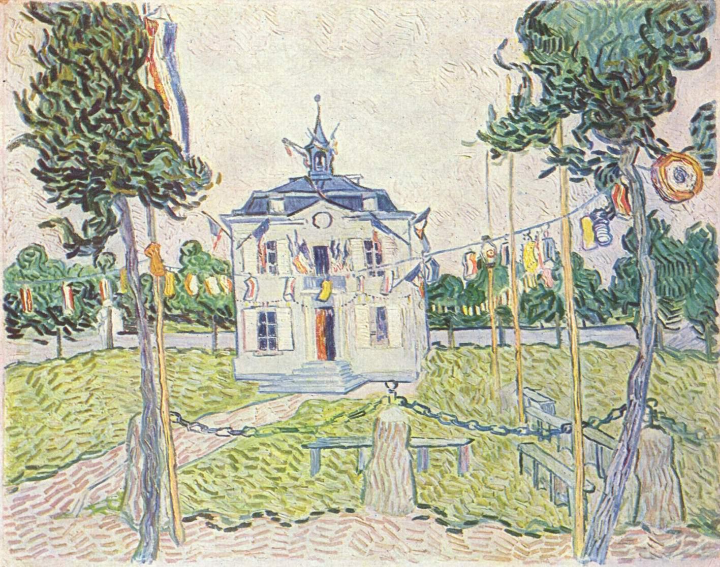 Дом церковной общины в Овере, Ван Гог Винсент Виллем
