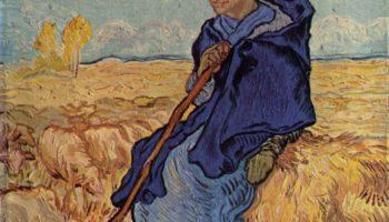 Пастушка (по мотивам Милле)