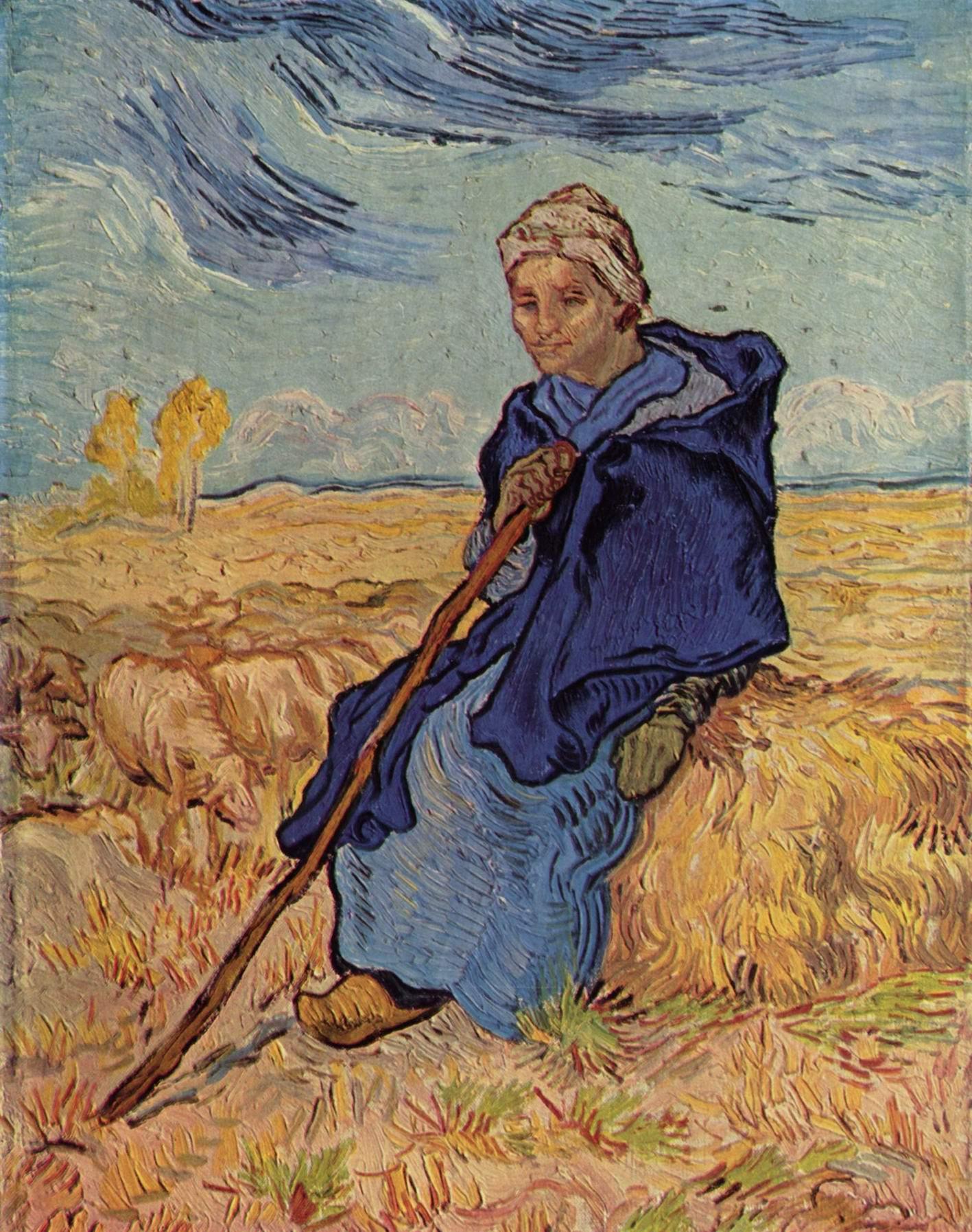 Пастушка, Ван Гог Винсент Виллем