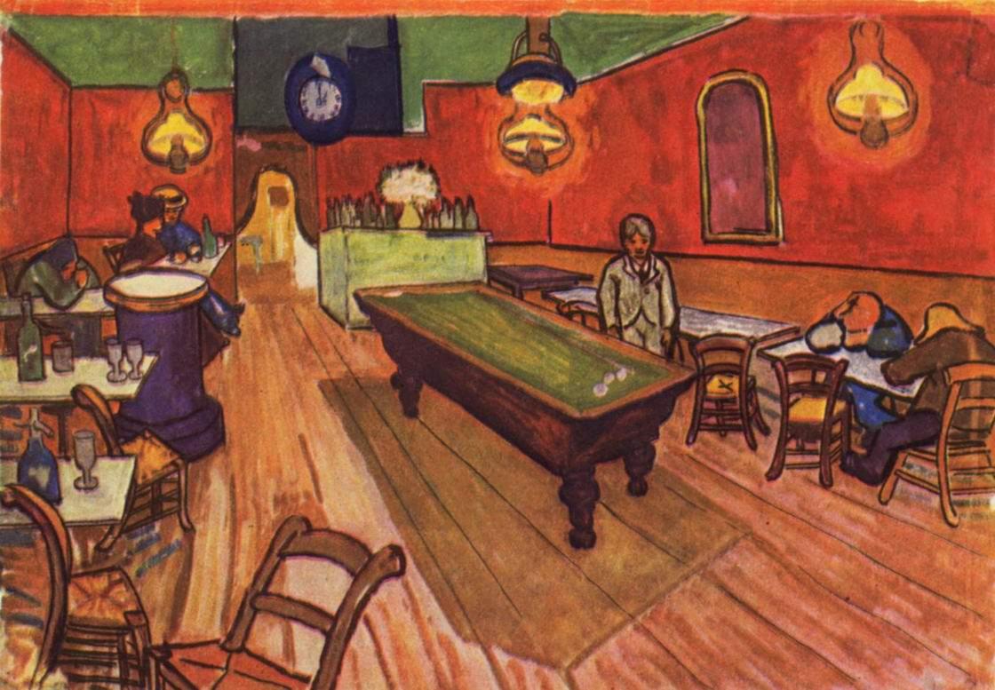 Ночное кафе, Ван Гог Винсент Виллем