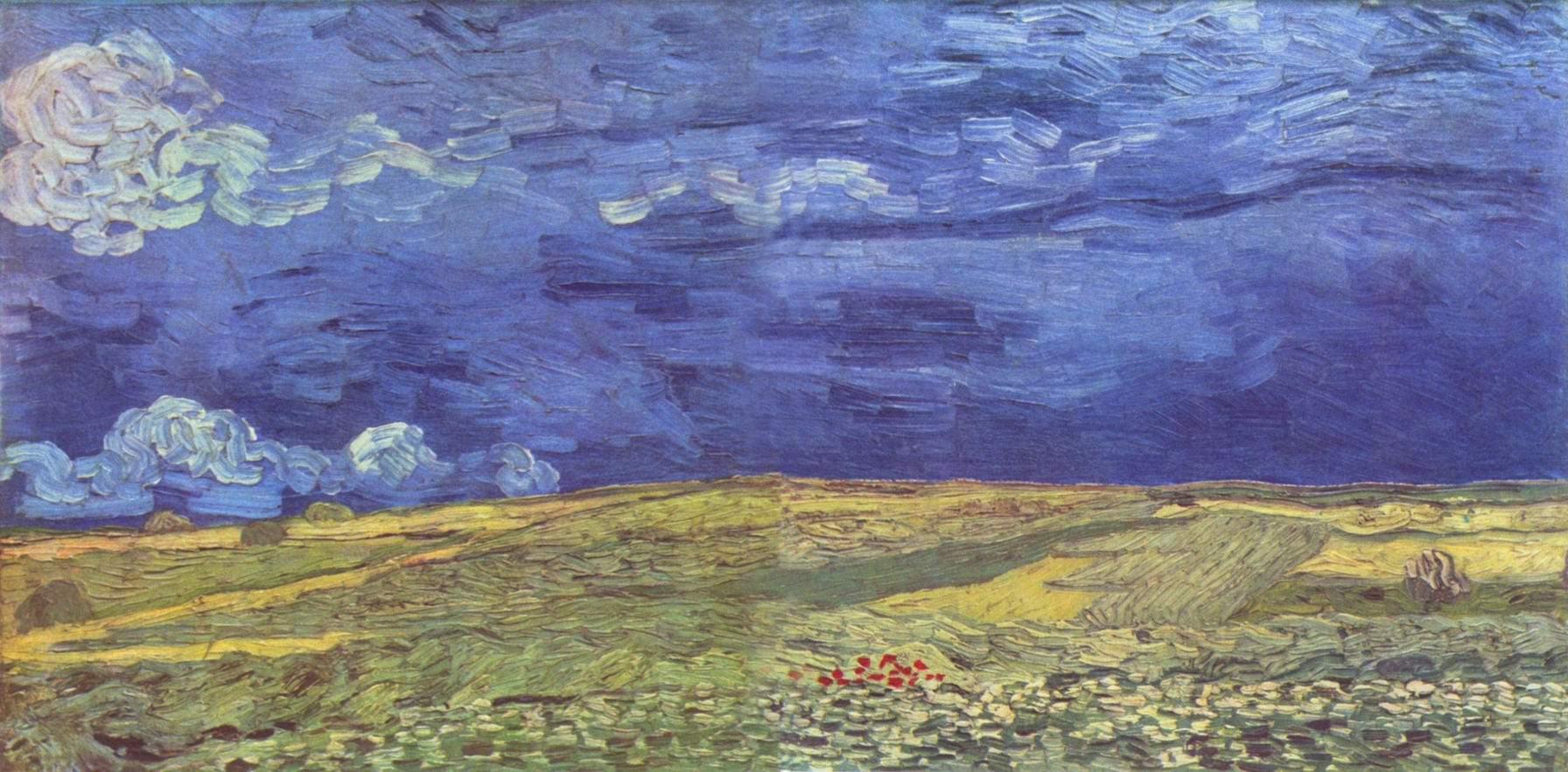 Поле под грозовым небом, Ван Гог Винсент Виллем