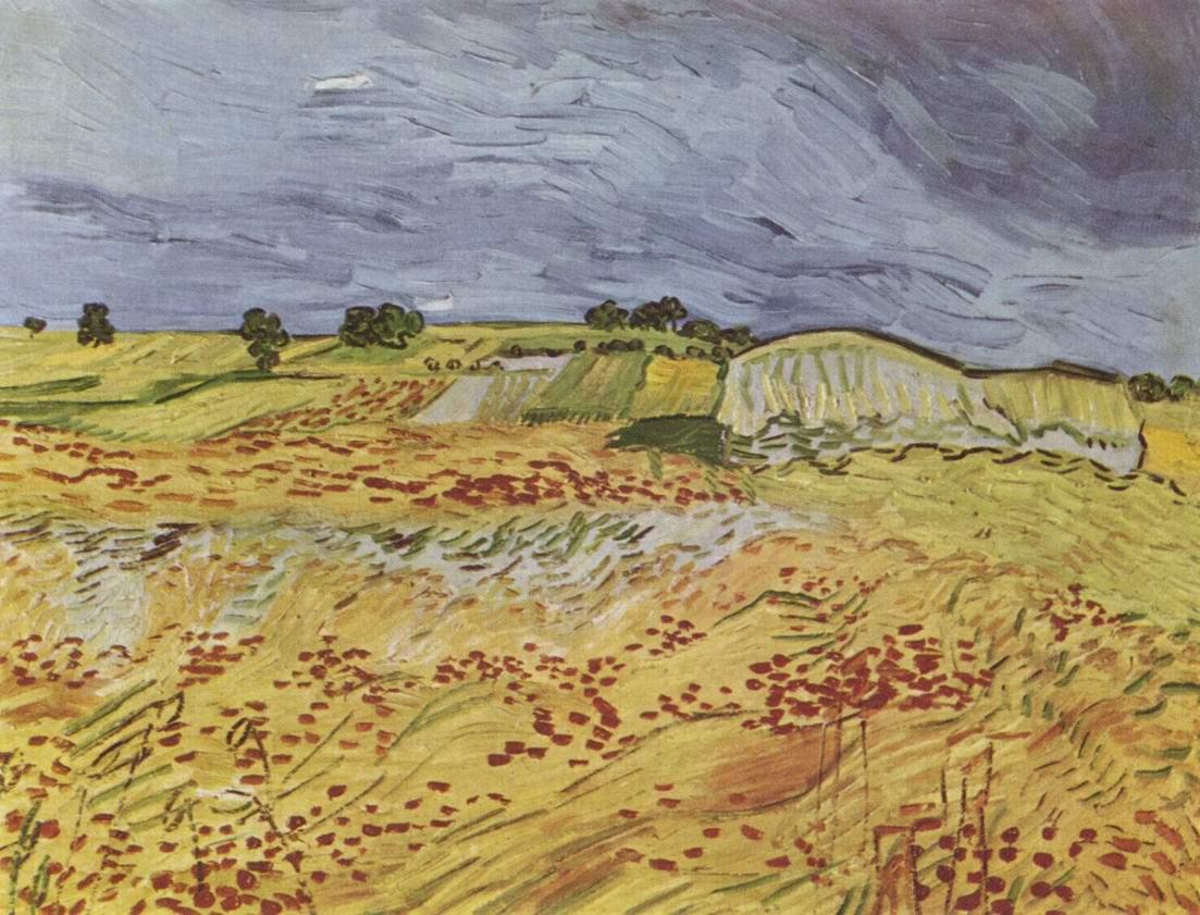 Пейзаж близ Овера, Ван Гог Винсент Виллем