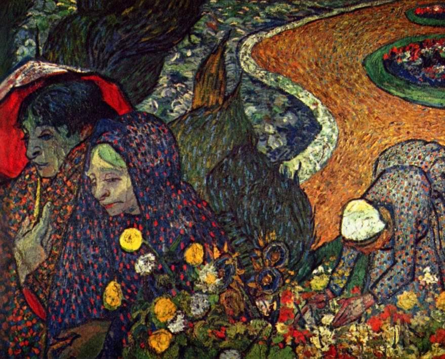 Прогулка в Арле (Воспоминание о саде в Эттене), Ван Гог Винсент Виллем