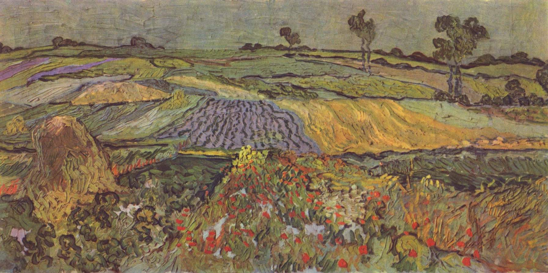 Равнина близ Овера, Ван Гог Винсент Виллем