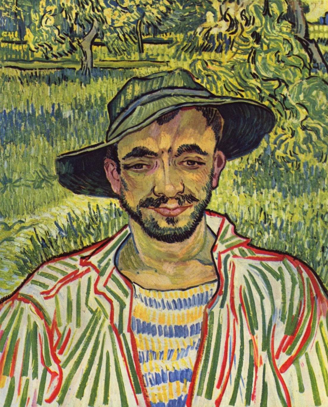 Молодой крестьянин, Ван Гог Винсент Виллем