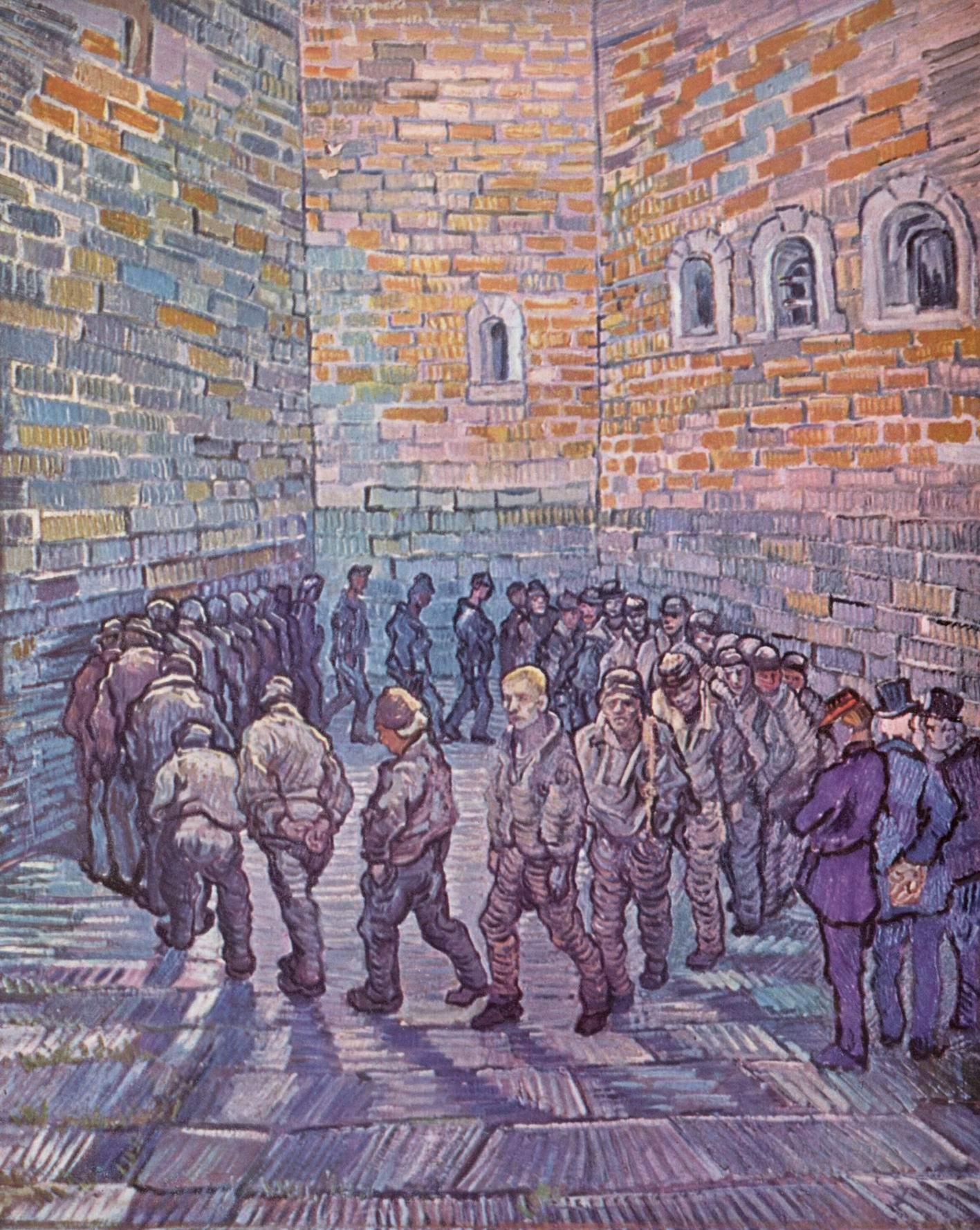 Прогулка заключенных, Ван Гог Винсент Виллем