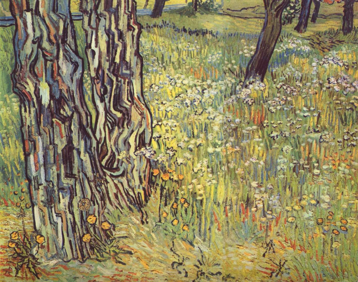 Стволы деревьев, Ван Гог Винсент Виллем