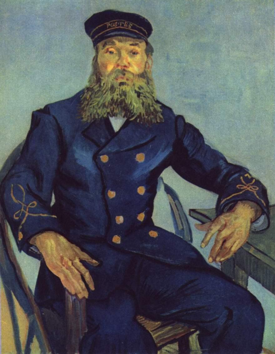 Портрет почтальона Жозефа Рулена, Ван Гог Винсент Виллем