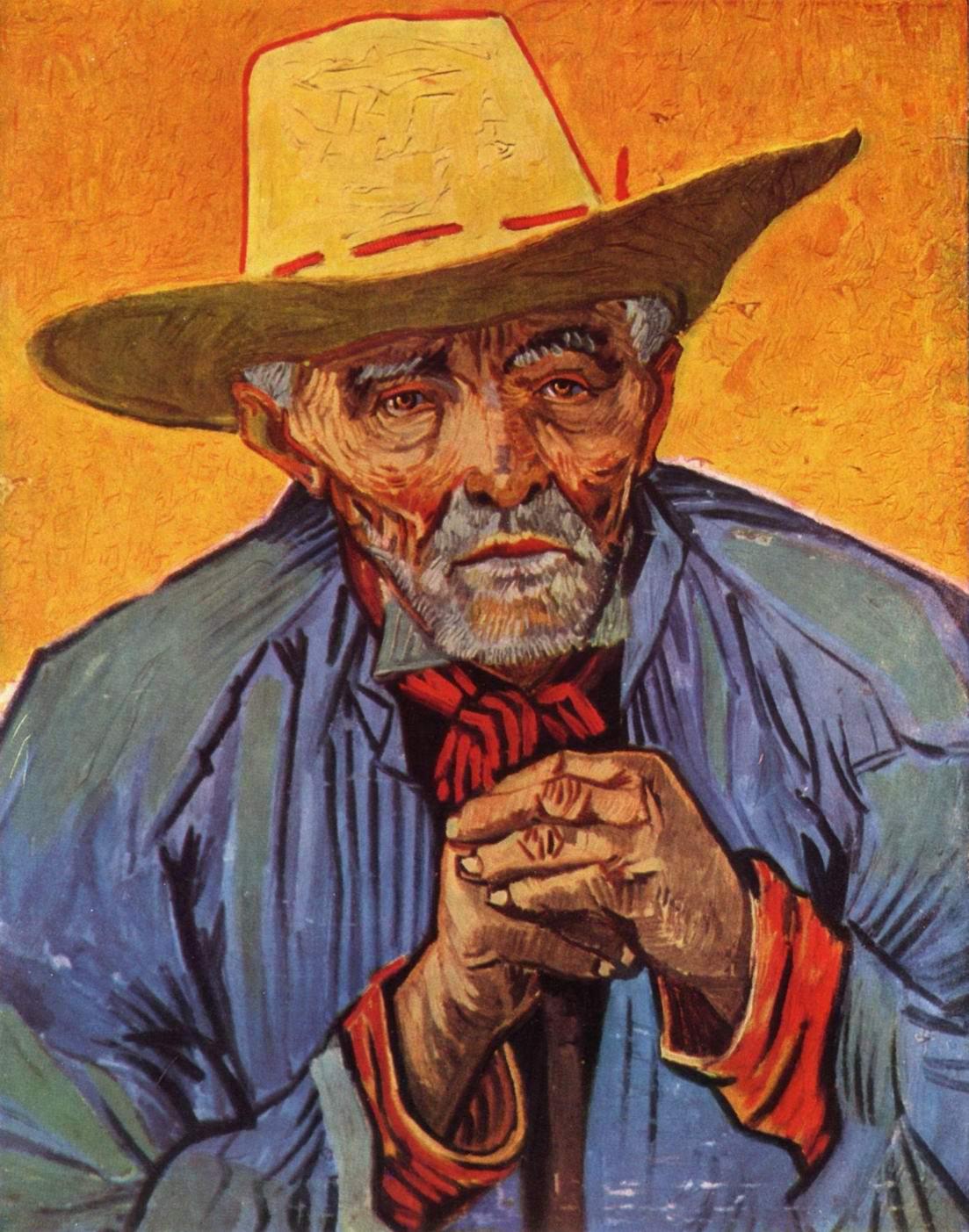 Портрет старого крестьянина Патьенса Эскалье, Ван Гог Винсент Виллем