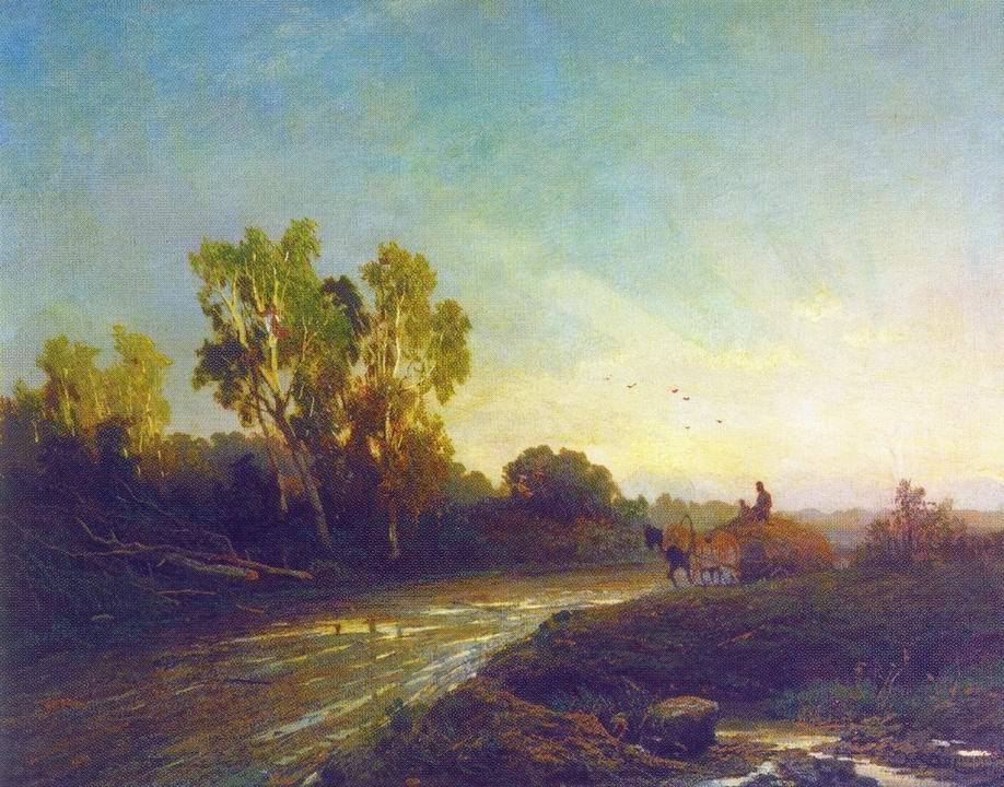 После дождя, Васильев Фёдор Александрович