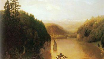 Озеро в горной Башкирии