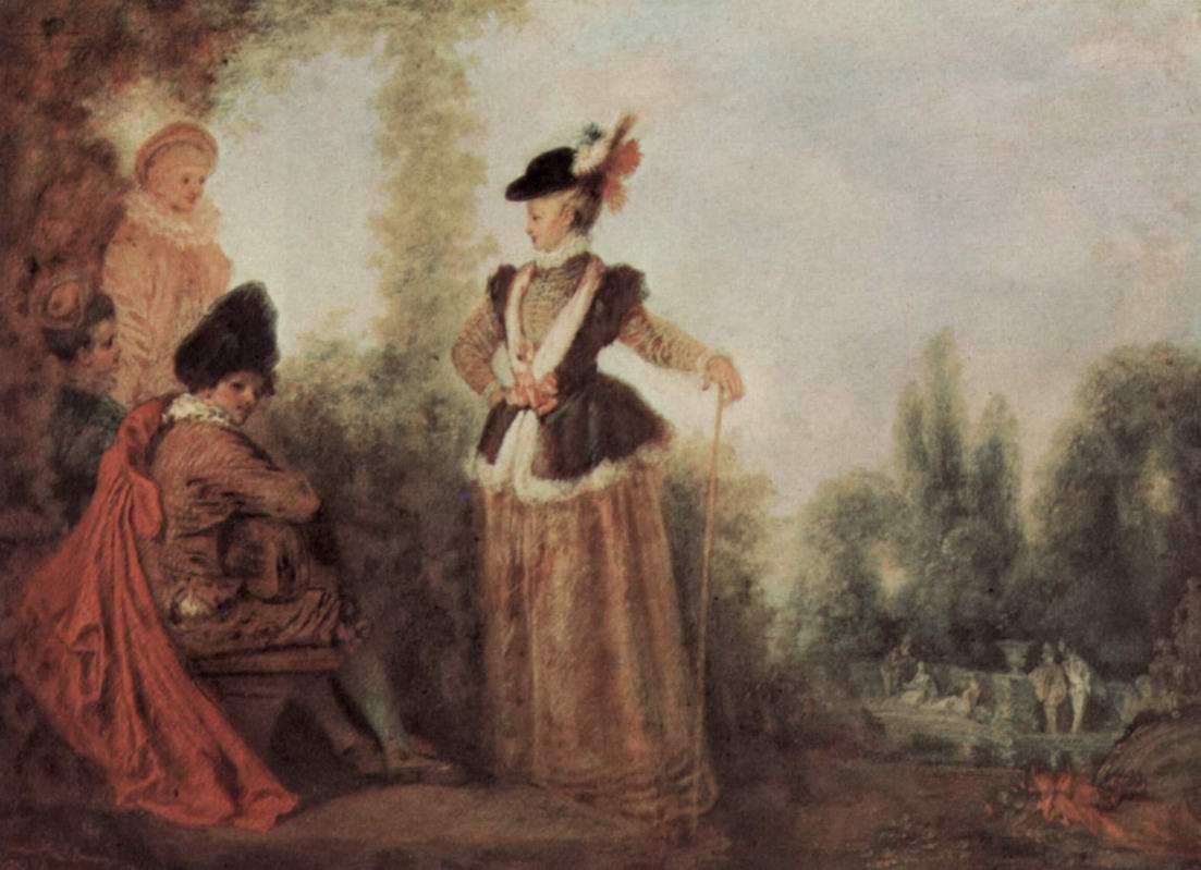 Любительница приключений, Ватто Антуан