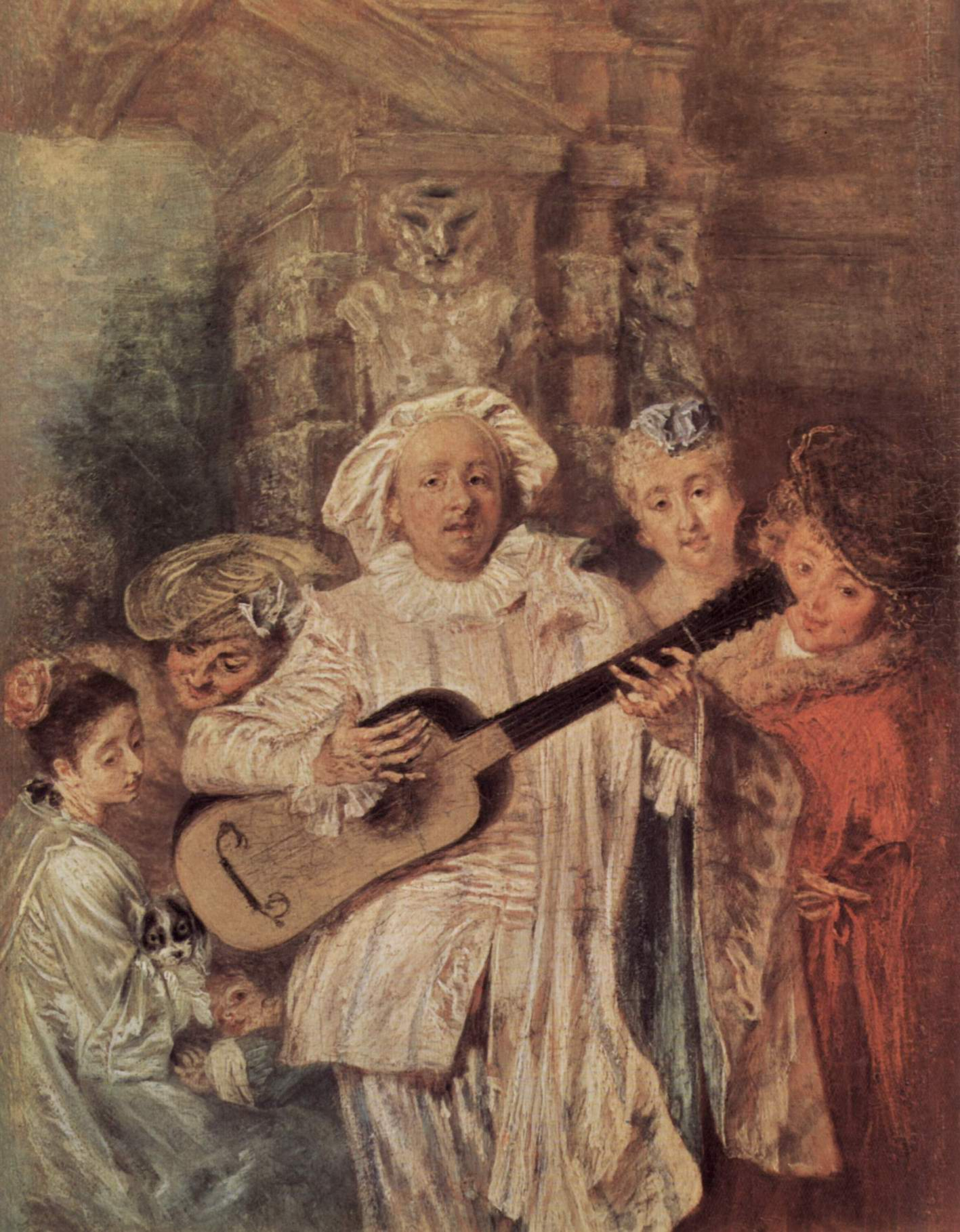Семейство Медзетен, Ватто Антуан