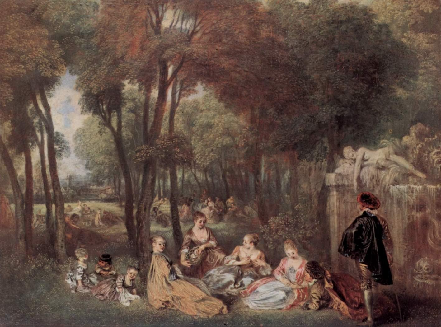 Елисейские поля, Ватто Антуан