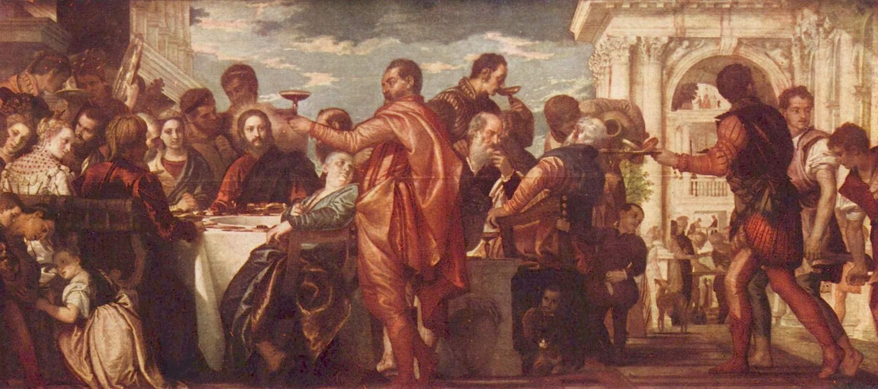 Брак в Кане Галилейской, Веронезе Паоло