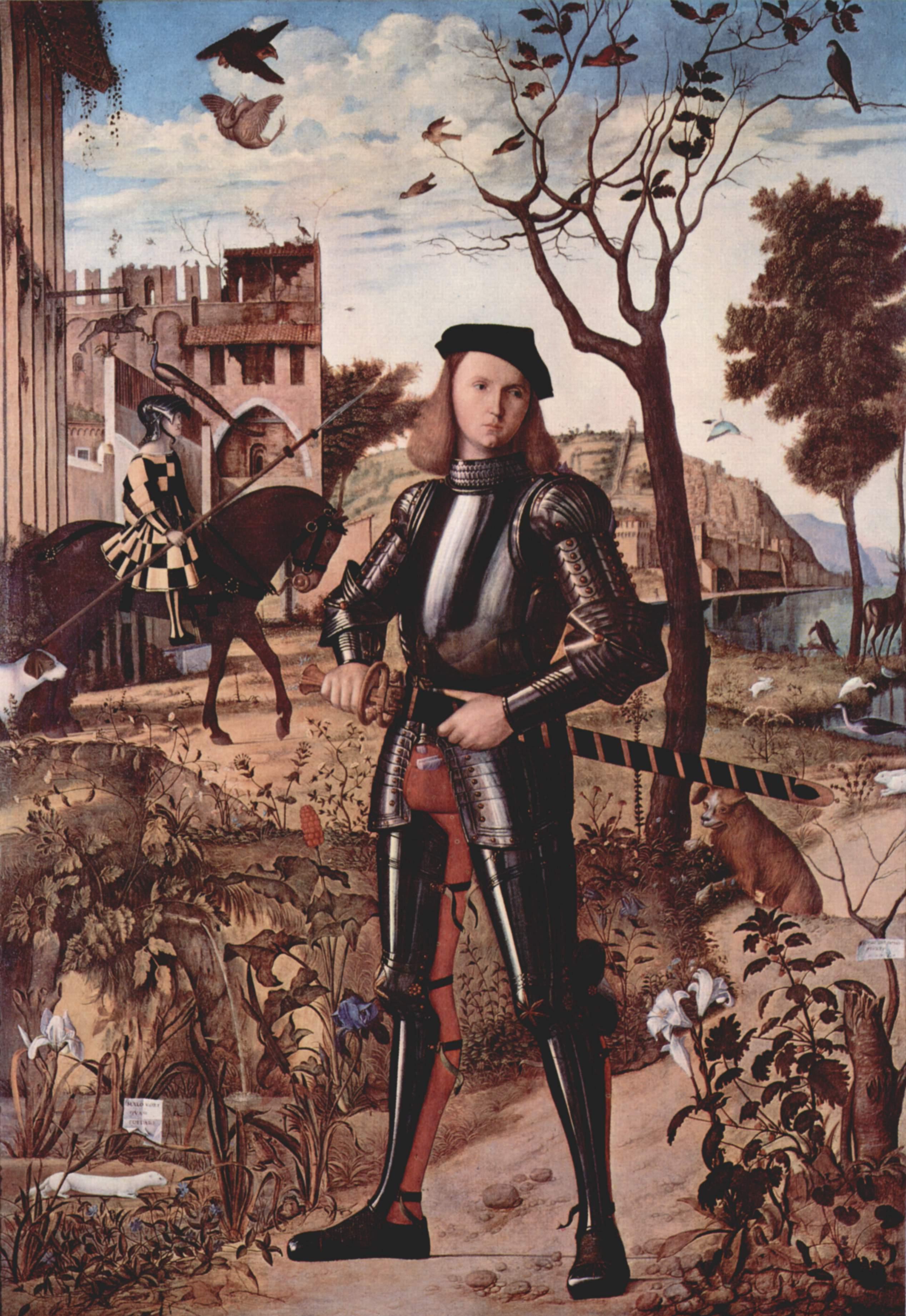 Портрет рыцаря, Витторе Карпаччо