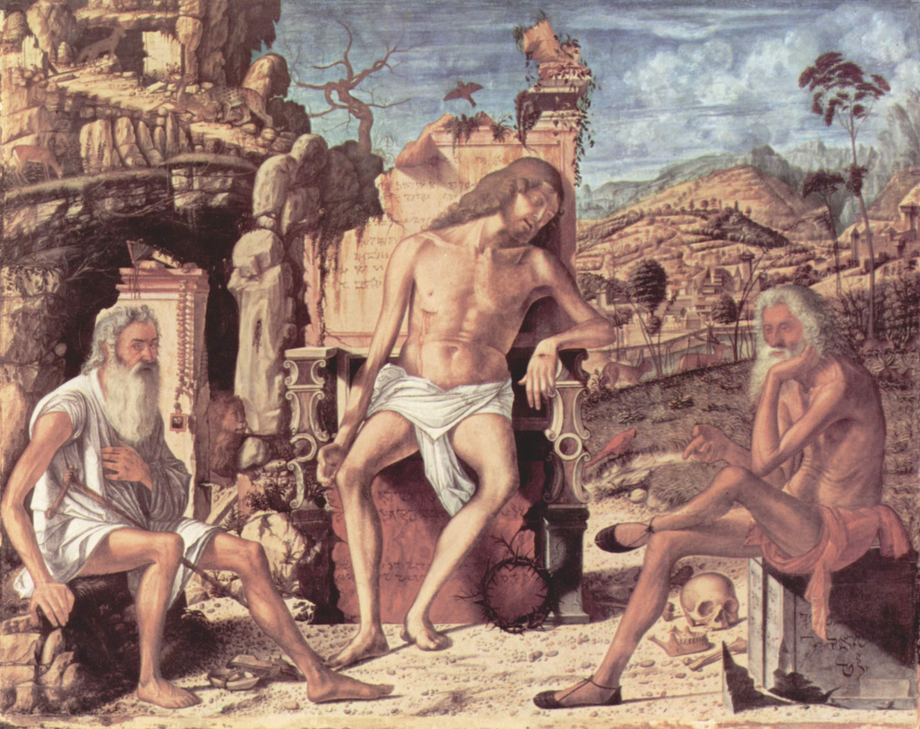 Размышление о Страстях Христовых, Витторе Карпаччо
