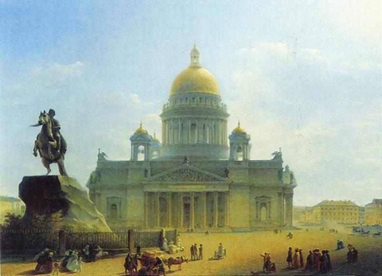 Исаакиевский собор и памятник Петру I, Воробьев Максим Никифорович