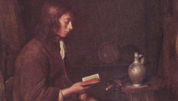 Молодой человек за чтением