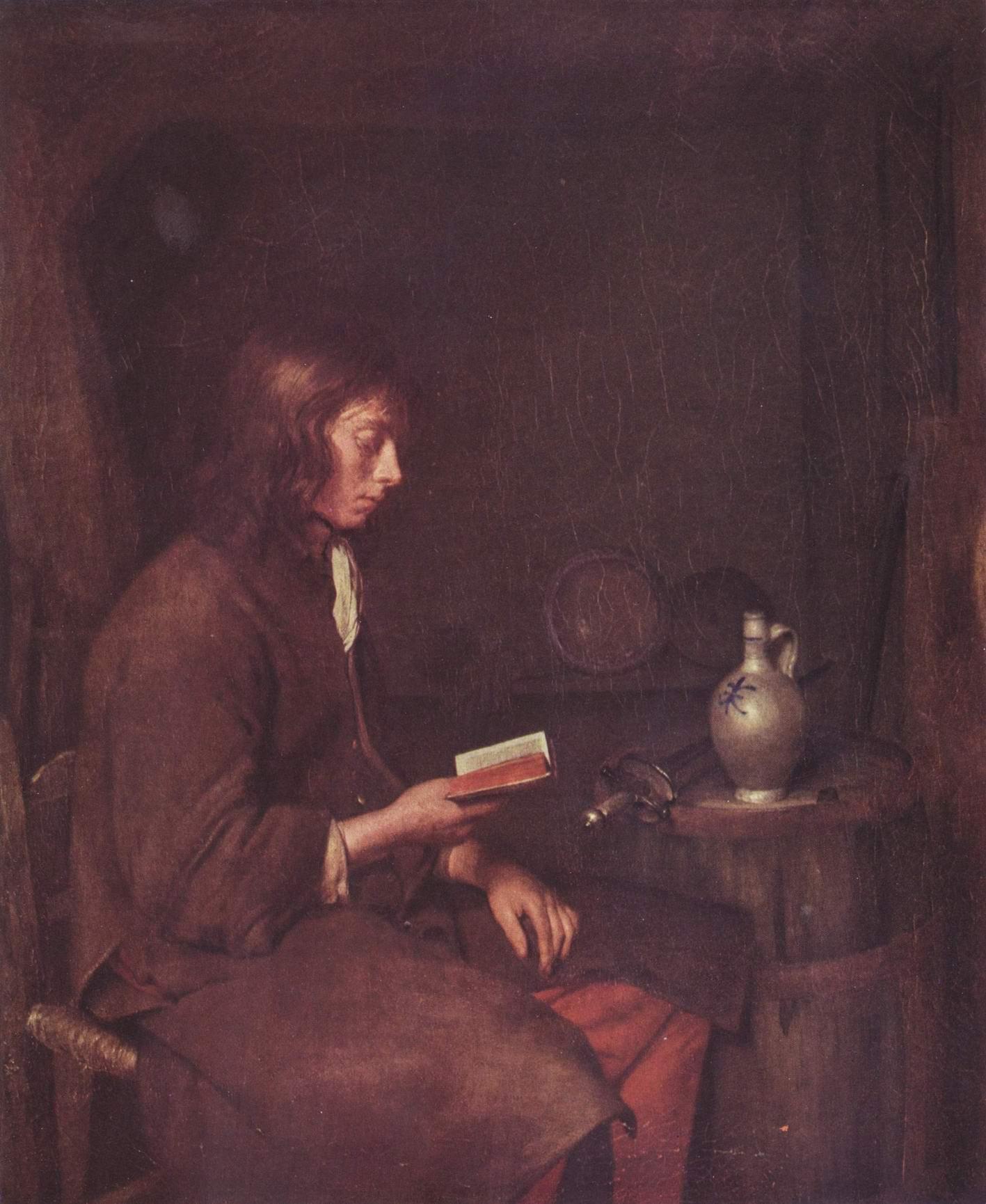 Читающий мужчина, Герард тер Борх Младший