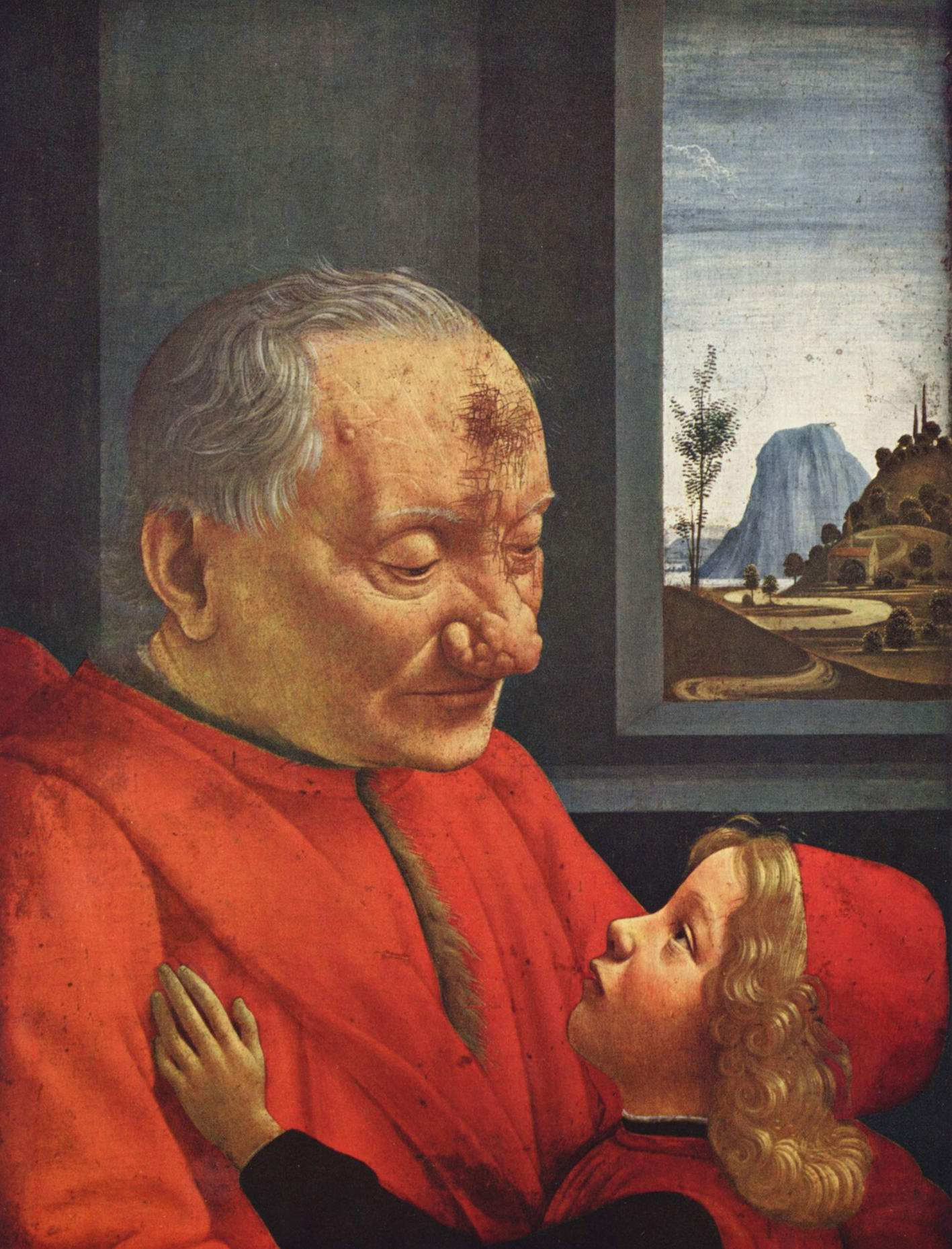 Дед и внук, Гирландайо Доменико