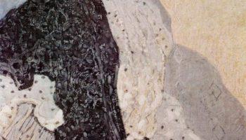 Испанка с черной шалью