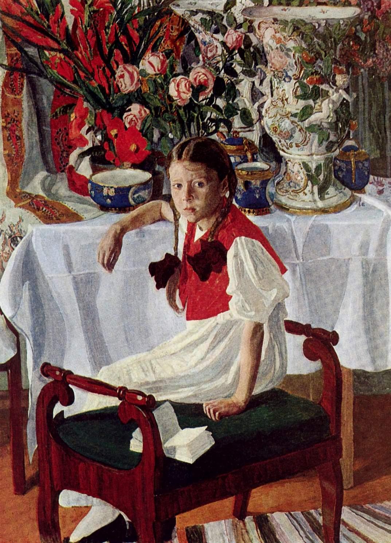 Девочка и фарфор, Головин Александр Яковлевич