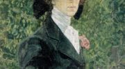 Портрет Е. П. Носовой. Фрагмент