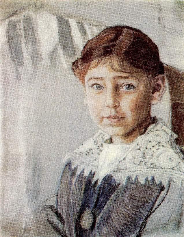 Портрет Оли Рыбаковой, Головин Александр Яковлевич