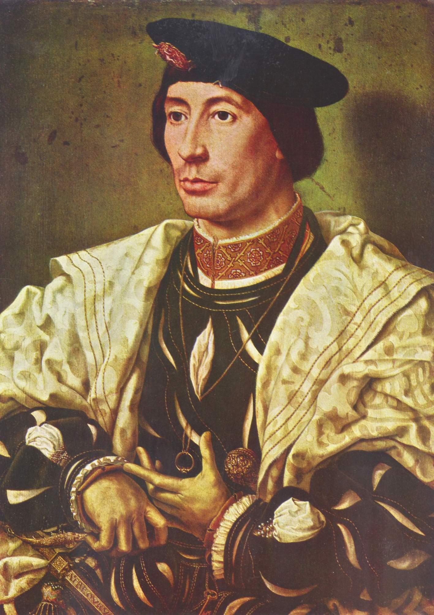 Портрет знатного бургундца, Госсарт Ян