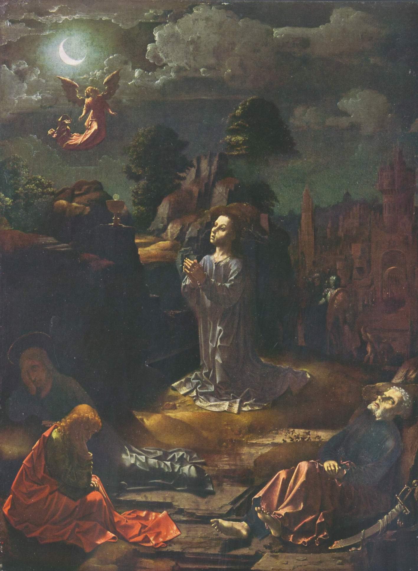 Христос на Масличной горе, Госсарт Ян