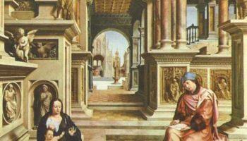 Св. Лука, рисующий Мадонну