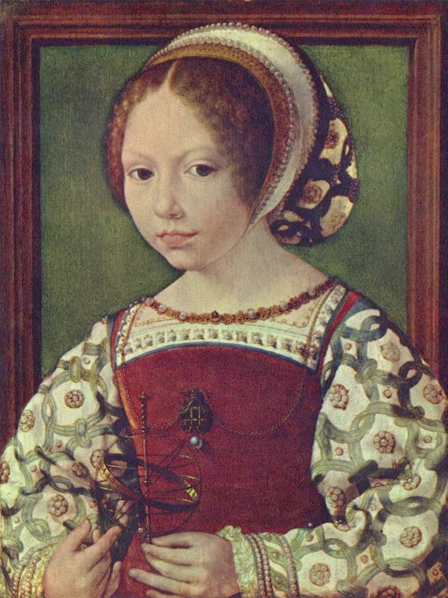 Портрет девушки (Жаклен де Бургонь2a28, Госсарт Ян
