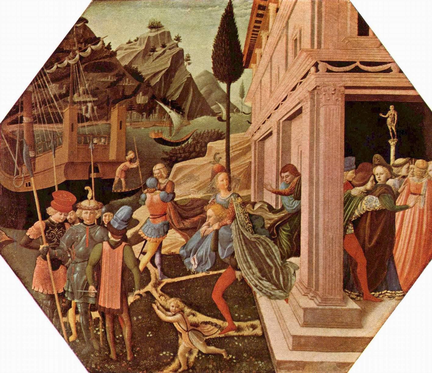 Похищение Елены, Гоццоли Беноццо