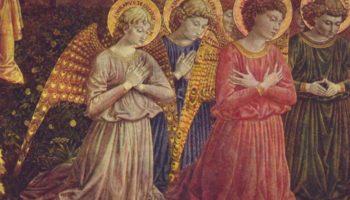 Поклоняющиеся ангелы