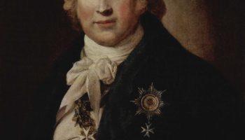Портрет Кристофа Иоганна Фридриха Медема, тайного советника русской службы и российского посланника в Вашингтоне