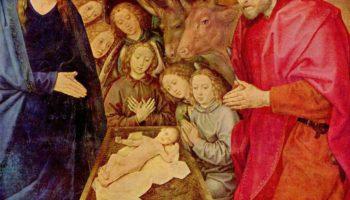 Поклонение пастухов. Фрагмент