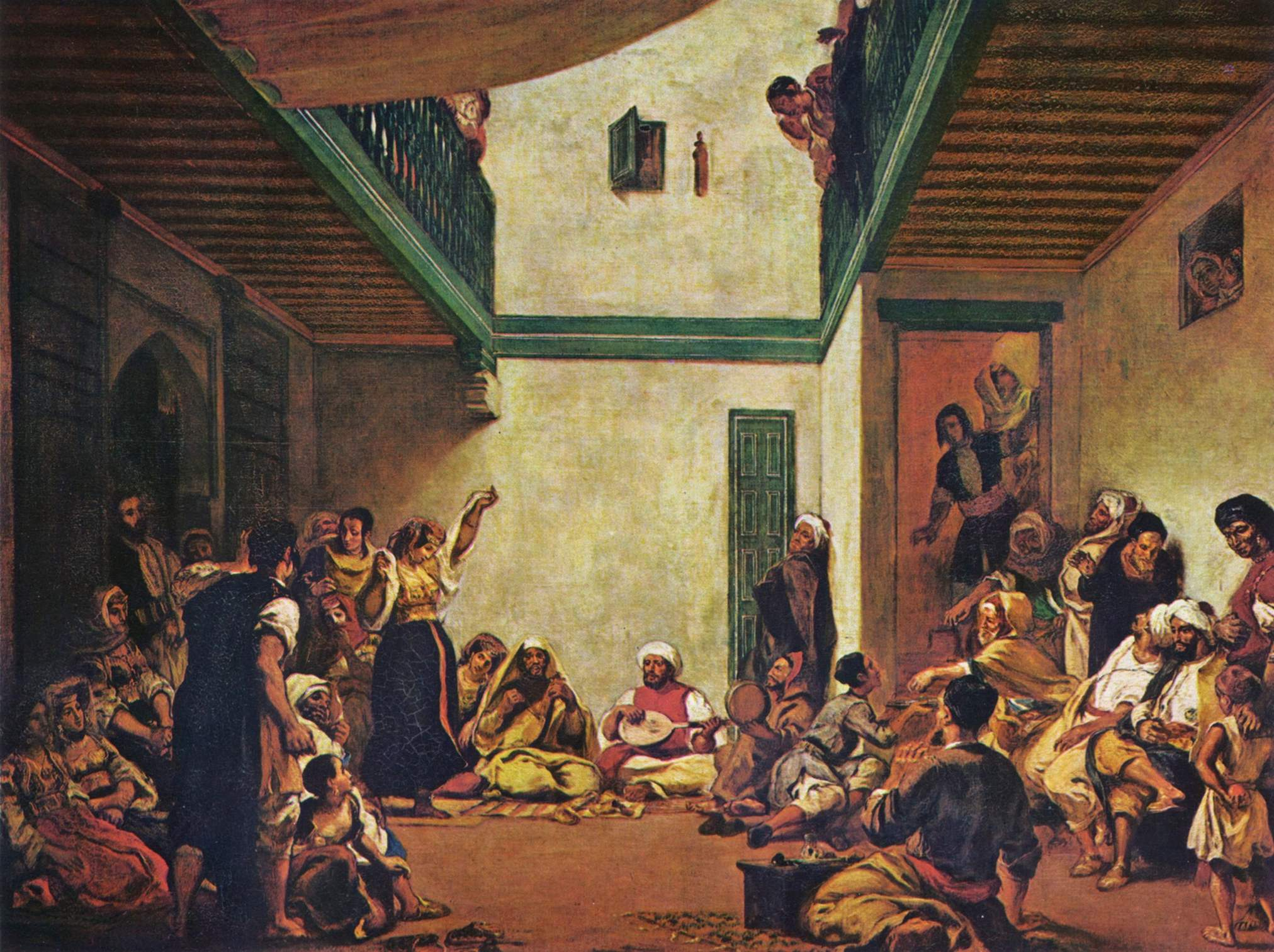 Еврейская свадьба в Марокко, Делакруа Эжен Фердинанд Виктор