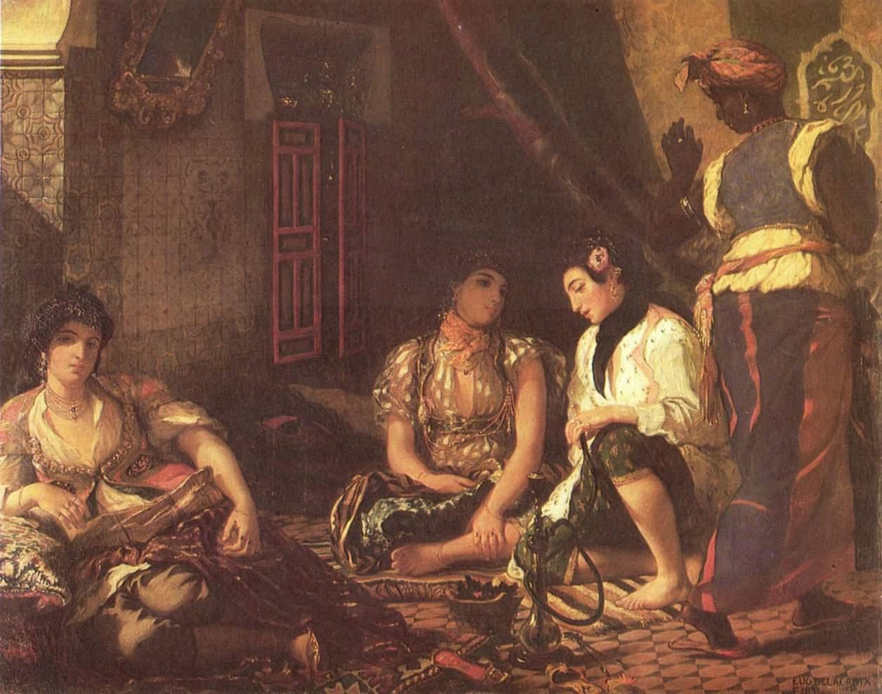 Алжирские женщины, Делакруа Эжен Фердинанд Виктор