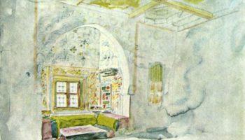 Комната с нишей во дворце султана Мекнеса