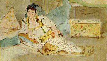 Алжирские женщины (этюд II)