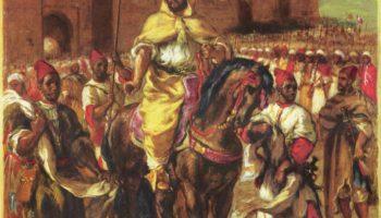 Портрет султана Марокко Мюли Абд-эль-Рахмана