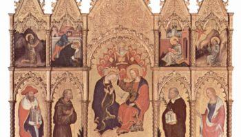 Коронование Марии, общий вид