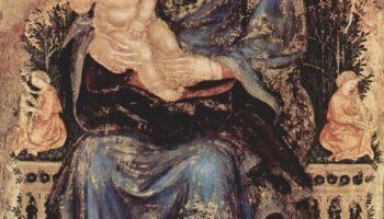 Мадонна на троне с музицирующими ангелами