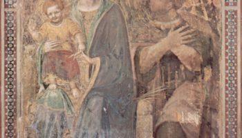 Фреска из собора в Урбино. Мадонна. Фрагмент