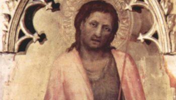 Полиптих Кваратези [10], боковая доска. Иоанн Креститель